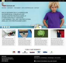 Fruit Distribution AB utvecklar sin digitala kommunikation med ny webb och återförsäljarportal