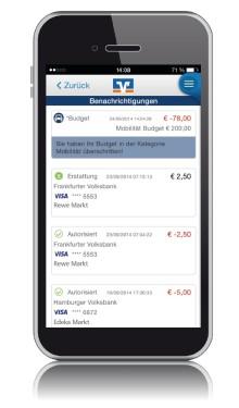 """Echtzeit-Alerts für Visa Zahlungen mit neuer App """"KartenRegie"""" der Volksbanken und Raiffeisenbanken"""