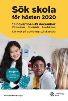 Affisch om skolvalet