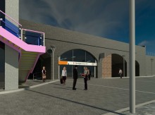 New Snow Hill Station entrance will give passengers direct link between trains and trams