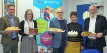 Ipswich's Fred. Olsen raises £375 for St Elizabeth Hospice with 'Great British Bake Off'-inspired challenge