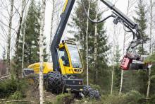 Nya skördarserien med svenska motorer