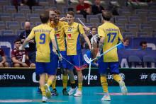 Sveriges herrlandslag klara för semifinal mot Schweiz i VM i Prag