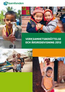 Barnfondens årsredovisning 2012