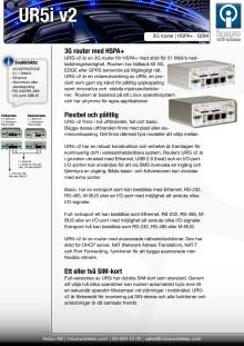 UR5i v2 HSPA+ router för M2M