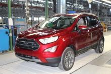 Ford dnes v Craiově zahájil výrobu nového kompaktního SUV EcoSport