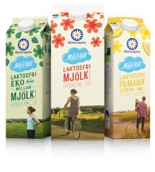 Skånemejerier lanserar laktosfritt sortiment i hela Sverige