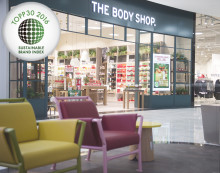 The Body Shop branschtvåa i Sustainable Brand Index 2016