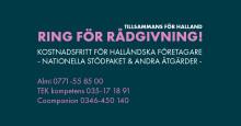 Tillsammans för Halland - Region Hallands sajt för stöd till företag i coronatider