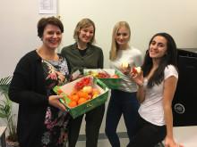 Nå blir det Skolefrukt til alle ungdomsskoleelever i Oslo-skolen