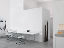 Infälld kanal för ett snyggare kontor