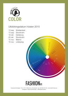 Utbildningsdatum ICON Color Hösten 2015