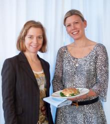 Polarbröds VD Karin Bodin och Anna Lallerstedt i samarbete