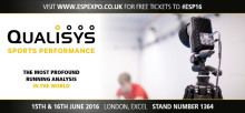Qualisys Nominated  Finalist in  Elite Sports Performance 2016 Awards