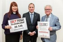 Drygt 26500 namn till regeringen för klimaträttvisa