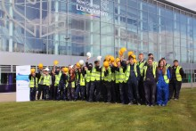 New College Lanarkshire's Construction Pre-Apprentices to gain work experience