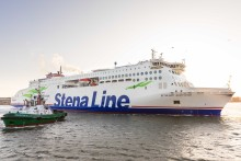 BON VOYAGE!!!  New Stena Line ferry defies Storm Brendan to start service on Irish Sea