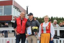 Järvsöfaks Ungdomsstipendium till Erik Holm
