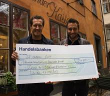 Zelmerlöw & Björkman Foundation har 234 881 anledningar att T A C K A