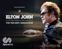 SportsAid launches competition to win two free Elton John tickets