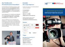 Flyer Medienpreis Mittelstand