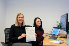 Ny lærebedrift for mediegrafikerfaget i Bø