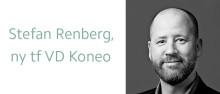 Stefan Renberg ny tf VD för IT-bolaget Koneo