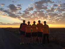 Madness prevails as runners raise R275 000 over 1 488km