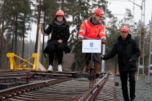 """""""Aktiestinsens rallareskola"""" invigd med hjälp av Infrastrukturministern"""