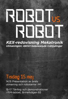 Kom och kolla på galen robotuppvisning
