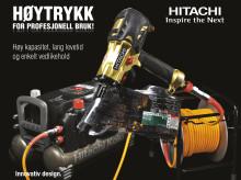 Hitachi høytrykksverktøy for profesjonell bruk!