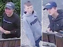 Appeal to identify four youths in connection with Hastings attempted burglary
