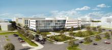 Skanska bygger Academic Medical Center i Evansville, USA, för cirka 340 miljoner kronor