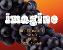 Lyssna på morgondagens stora artister när IMAGINE-deltävlingarna går av stapeln i Skåne och Kronoberg!