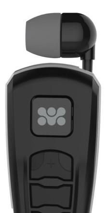 Bluetooth-headset med utdragbar öronsnäcka
