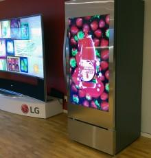 LG LANCERER KØLESKAB MED TRANSPARENT LCD-SKÆRM I DØREN – NY EKSPONERINGSMULIGHED TIL ERHVERVSDRIVENDE