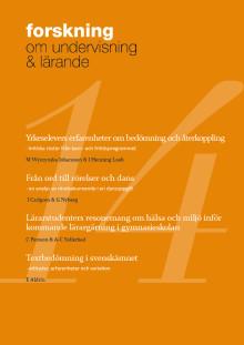 Forskning om undervisning och lärande nr 14