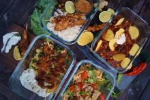Vegansk matlåda + Oumph! = matlådor för hela veckan!