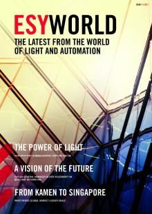 Ett magasin om synergin mellan ljus och automatisering: ESYLUX presenterar ESYWORLD