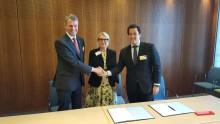 DZT, DIHK och AHK-nätverket avtalar globalt samarbete