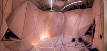 Interaktivt ljus och rörliga väggar tar fram kreativiteten i möten