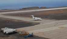 ​FIRST JET AIRCRAFT LANDS AT ST HELENA AIRPORT