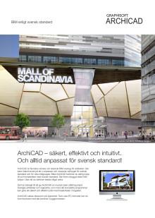 ArchiCAD – anpassat för svensk standard!