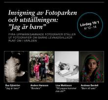 Prisbelönta fotografer inviger Fotoparken med stark utställning!