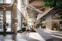 Humlegården påbörjar utvecklingen av kvarteret Origo i Solna strand