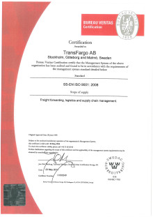 Kvalitetscertifikat