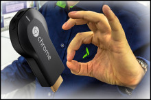 Nå kommer endelig salgssuksessen Google Chromecast til Norge