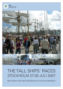 Rapport: Tall Ships Races i Stockholm 2007