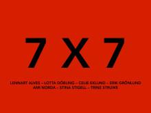 7 X 7 - SAMLINGSUTSTÄLLNING