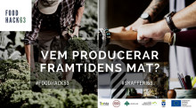 Norrland första Food Hackathon arrangeras på Torsta 4-6 maj